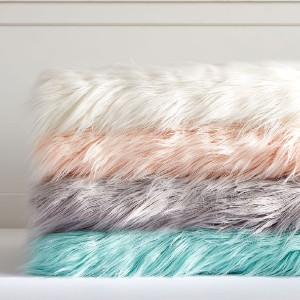 Potterybarn Himalayan Faux-Fur Throws - Best Blanket for Kids: Shaggy Faux-Fur Blanket