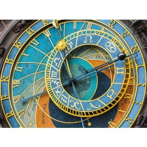 Nautilus Puzzles Prague Clock - Best Wooden Jigsaw Puzzles for Adults: Includes a Bonus Poster to Guide Assembly