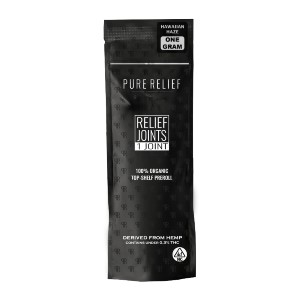 Pure Relief Pre-Rolled Joints - Best CBD Pre-Rolls for Pain: Relaxing and Smooth Smoking