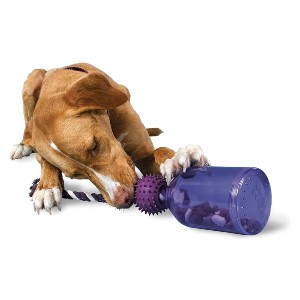 Premier Pet Tug-A-Jug Meal-Dispensing Dog Toy - Best Interactive Dog Toys: Long-lasting Fun Feeder Toy