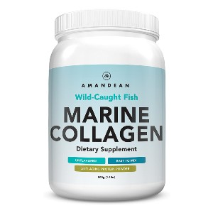 AMANDEAN Marine Collagen - Best Collagen Powder for Cellulite: Heal Your Body from the Inside