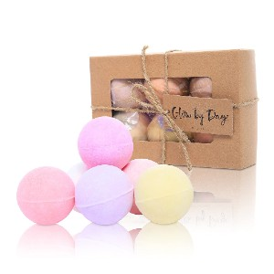 Glow By Daye Premium Muscle & Therapy Set - Best Bath Bombs for Sensitive Skin: Open Pores to Relax, Relieve, and Rejuvenate Your Body