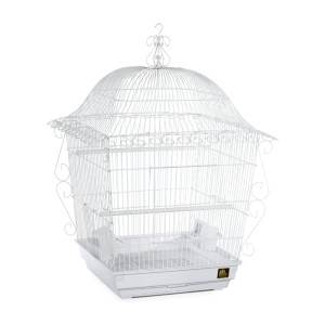 Prevue Hendryx Designer Scrollwork Series Jumbo Tiel Scrollwork Bird Cage  - Best Bird Cage for Finches: Fashionable yet functional