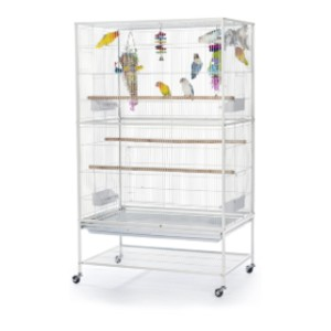Prevue Hendryx  Wrought Iron Flight Cage  - Best Bird Cages for Conures: Easy to assemble