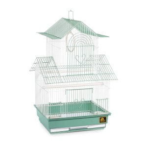 Prevue Hendryx SP1720-4 Shanghai Parakeet Cage - Best Bird Cage for Canary: Chic style