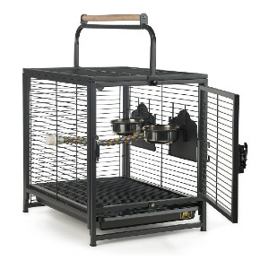 Prevue Pet Products Travel Carrier for Birds - Best Bird Cage for Cockatiel: Ideal for long trips