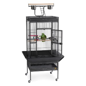 Prevue Hendryx Wrought Iron Select Bird Cage 3151BLK - Best Bird Cage for Lovebirds: Remarkable durability