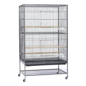 Prevue Pet Products Wrought Iron Small & Medium Birds Flight Cage - Best Bird Cages for Budgies: Plenty of space and air