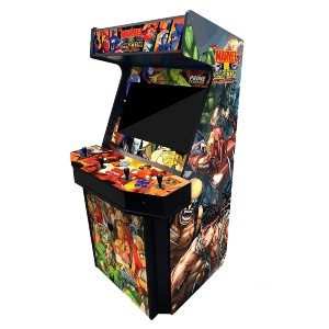 Prime Arcades, LLC 4 Player Upright Arcade Machine - Best Multi Game Arcade Machine: Enjoy All the Games You Grew Up With