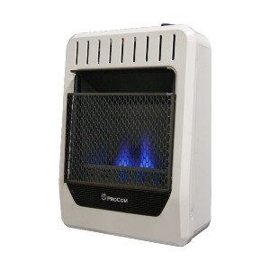 ProCom Heating Ventless  - Best Space Heater for Garage Gym: Solid propane heater