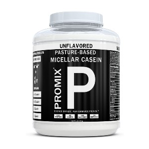 ProMix Nutrition 100% Casein Protein Powder - Best Unflavored Protein Powder: Low-Calorie for Dietary