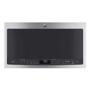GE Profile 2.1 cu. ft. Over the Range Microwave - Best Microwave with Vent: Top-notch quick reheat