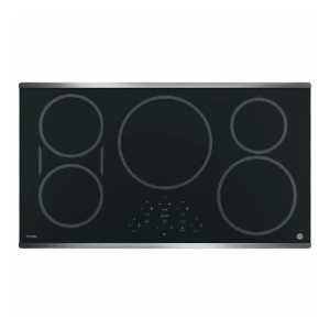 GE Profile 36 in. Electric Induction Cooktop - Best Stove Cooktops: Worry-free pan detection