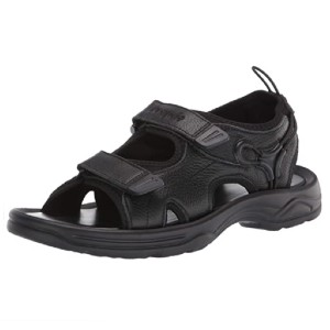 Propet Men's Casual Sandal - Best Sandals for Wide Feet: Full-Grain Leather