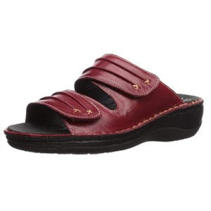 Propet  Women's June Slide Sandal - Best Sandals for Wide Feet: Removable Footbed