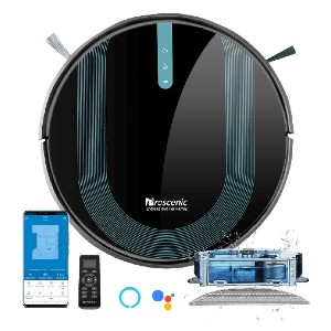Proscenic 850T  - Best Robot Vacuum Cleaner and Mop: Supports the Scheduling Function