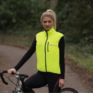 Proviz Women's 100% Reflective Switch Cycling Vest - Best Vests for Cycling: Reversible Neon Yellow Vest