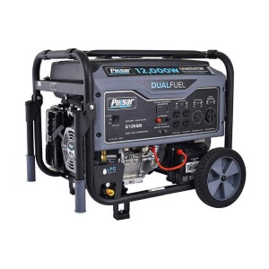 Pulsar G12KBN - Best Generators for Power Outages: Dual Fuel Capability