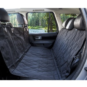 PupProtector™ Pillowtop Bed Car Seat Cover - Best Dog Car Seat Covers: Waterproof Car Back Seat Cover