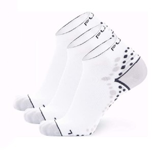 Pure Athlete Ultra-Comfortable Running Socks  - Best Hiking Socks to Prevent Blisters: Socks with Non-Slip Cuff