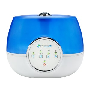 PureGuardian Ultrasonic 2 Gal. Warm and Cool Mist Aromatherapy Humidifier - Best Humidifier Easy to Clean: Ultra-quiet operation humidifier