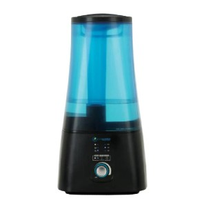 PureGuardian Ultrasonic Warm and Cool Mist Humidifier with UV-C and Aroma Tray - Best Germ Free Humidifiers: Safety humidifier