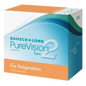 Bausch & Lomb PureVision 2 - Best Contact Lenses for Astigmatism: Made Especially for People with Astigmatism