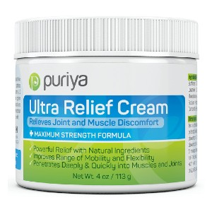 Puriya Ultra Relief Cream - Best Pain Cream for Sciatica: Excellent Clean Cream