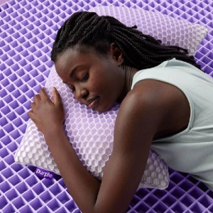 Purple The Purple Harmony™ Pillow - Best Pillow for Side and Back Sleepers: Pillow with Cool Mesh Cover