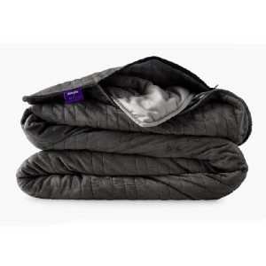 Purple Purple + Gravity Weighted Blanket - Best Weighted Blanket for Adults: Cooling Tech Fabric