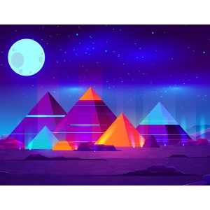 All Paint by Numbers Pyramids - Best Paint by Number Kits for Beginners: The Ancient and The Most Alluring Human Made Object