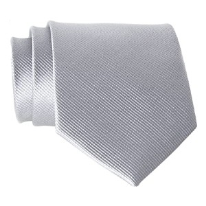 QBSM Men's Solid Polyester Textile Neckties  - Best Ties for Black Suits: Best for budget