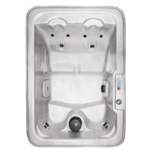 QCA Spas St. Lucia 4-Person 10-Jet Plug and Play Hot Tub - Best Four-Person Hot Tubs: Hot Tub with Built-In Seating