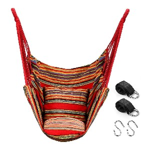 QUANFENG QF Hammock Chair Swing - Best Hammocks Chair for Heavy Person: Safe Hanging Chair
