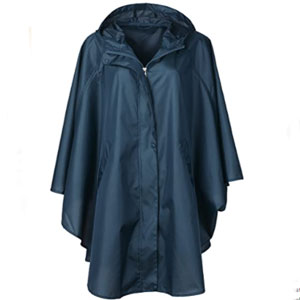 QZUnique Store Jacket Coat Hooded for Adults with Pockets - Best Raincoats for Festivals: Easy Dry Raincoat