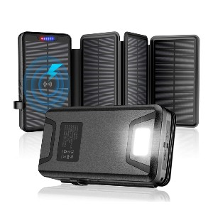 QiSa Solar Charger - Best Power Banks on Amazon: Excellent Solar Charger