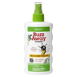 Quantum Health Buzz Away Extreme - Best Mosquito Repellent Organic: Fragrance-Free Natural Repellent