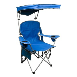 Quik Shade Adjustable Canopy Folding Camp Chair  - Best Folding Chair with Canopy: The most affordable