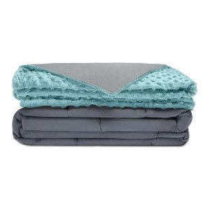 Quility Premium Weighted Blanket - Best Weighted Blanket for Adults: Advanced Sewing Technology