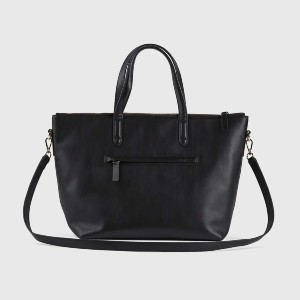 Quince Smooth Leather Traveler Tote - Best Crossbody Bags for Moms: Well-Made Crossbody Bag