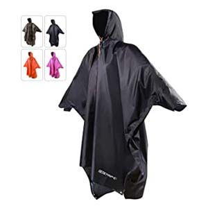 REDCAMP Waterproof Rain Poncho - Best Raincoats for Cycling: Waterproof with no leakage