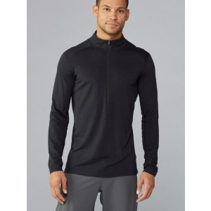REI Co-op Merino Midweight Base Layer Half-Zip Top - Best Base Layers for Skiing: Machine Washable Base Layer