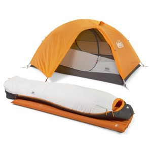 REI Co-op Backpacking Bundle  - Best Synthetic Sleeping Bags: A complete package