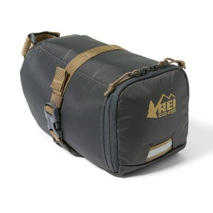 REI Co-op Junction Seat Bag - Best Bicycle Saddle Bag for Touring: Excellent compression straps