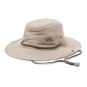 REI Co-op Vented Explorer Hat - Best Beach Hat Men: Polyester Mesh Side Vents Keep Your Head Cool