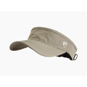 Kuhl Renegade Visor - Best Sun Hat for Golfers: Minimalist Look has the Versatility to be Your Go-to Hat