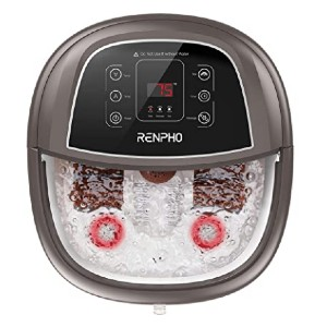 RENPHO Foot Spa Bath Massager - Best Foot Spa Amazon: Highly customizable
