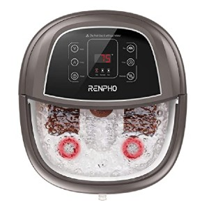 RENPHO Foot Spa Bath Massager - Best Foot Spa with Automatic Rollers: You make the rules