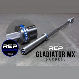 REP Fitness REP 28.5mm Gladiator MX Barbell - Best Barbell for Crossfit: Low maintenance