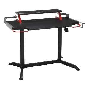 RESPAWN RSP-3000 Computer Ergonomic Height Adjustable Gaming Desk - Best Standing Desk for Gaming: Gamer-Friendly Features